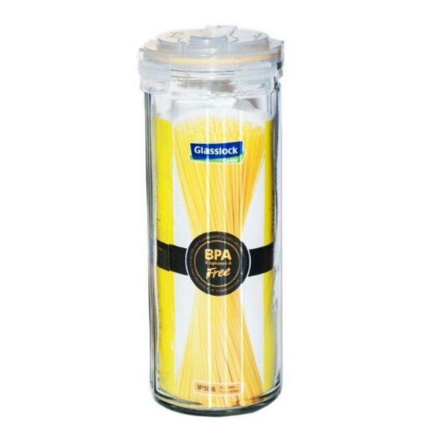 ~Glasslock ~直線密封保鮮罐冷水壺兩用瓶義大利麵罐1800ml IP586