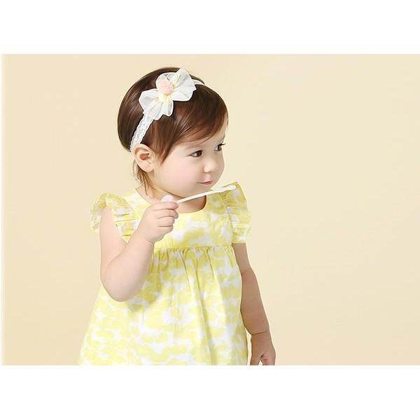 果漾妮妮韓國網紗皇冠毛球款寶寶嬰兒髮帶頭帶送禮 禮服婚禮~P3905 ~