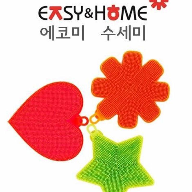 ✨韓國ㄚ朱嬤愛用廚房用品韓國製ECO 100 矽膠環保洗滌萬用菜瓜布韓国空運7 ~14 天
