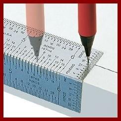 ~木頭人~INCRA 公制30cm 精密彎曲直角尺直角尺 劃線劃直角木工工具