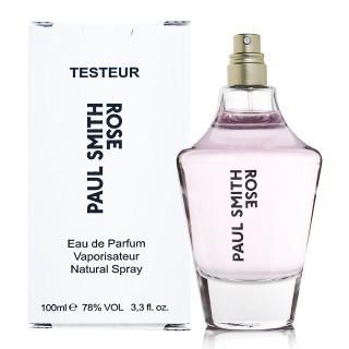 Paul Smith Rose 玫瑰女性淡香精100ml TESTER 無蓋只有兩瓶超純粹