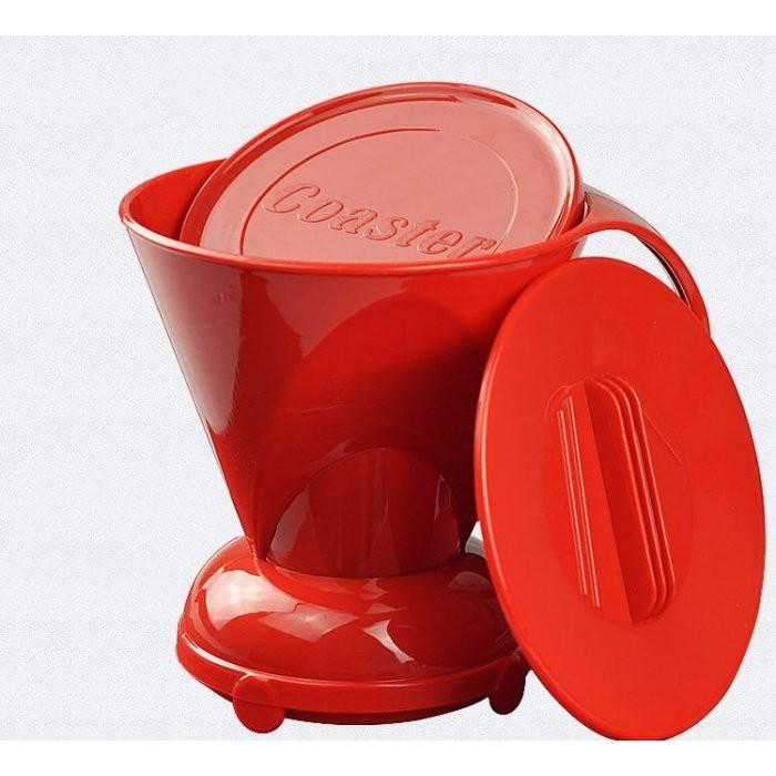 妮可貓顏色隨即出貨咖啡聰明濾杯沖茶器送~德國製103 扇型濾紙~不會手沖的咖啡愛好者也會