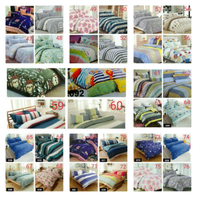 新80 多款3M 舒柔棉舖棉床包兩用被舖棉床包四件組枕頭套加大舖棉床包床包組