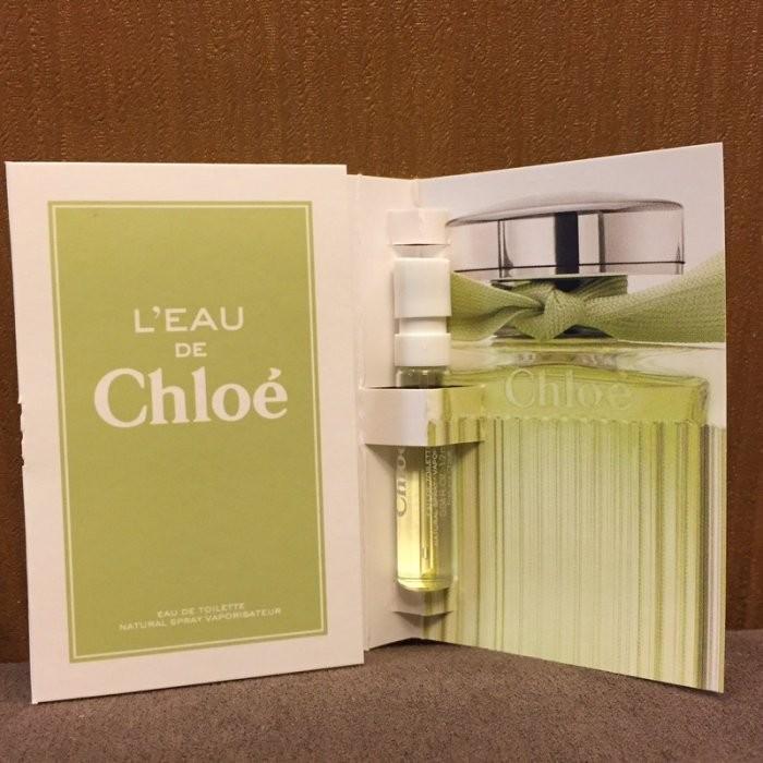 美國 CHLOE 水漾玫瑰女性淡香水針管試管1 2ML
