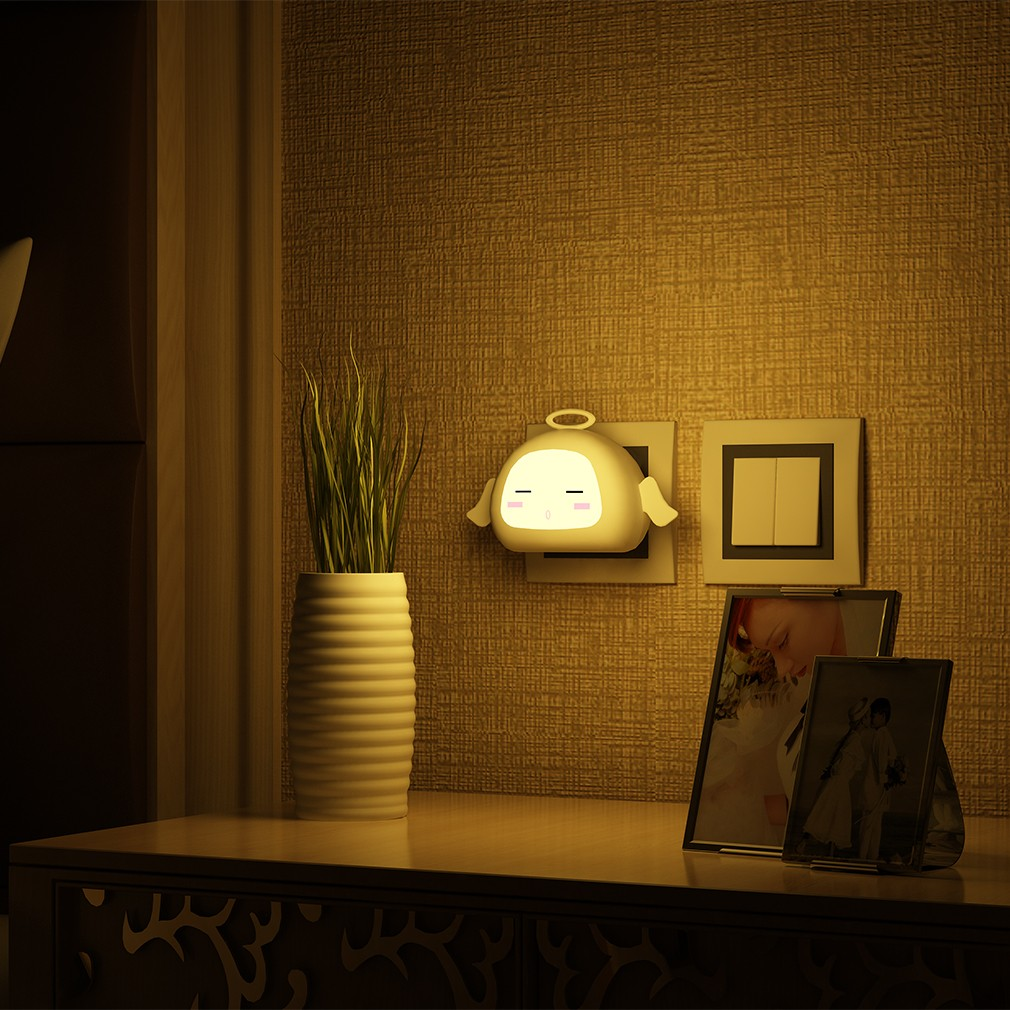 可愛卡通 臥室床頭燈新型LED 小夜燈