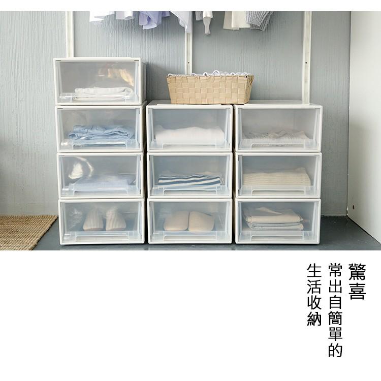 〖SNOW PEN 〗簡約居家可疊式抽屜衣物鞋子收納盒整理箱(迷你四色)
