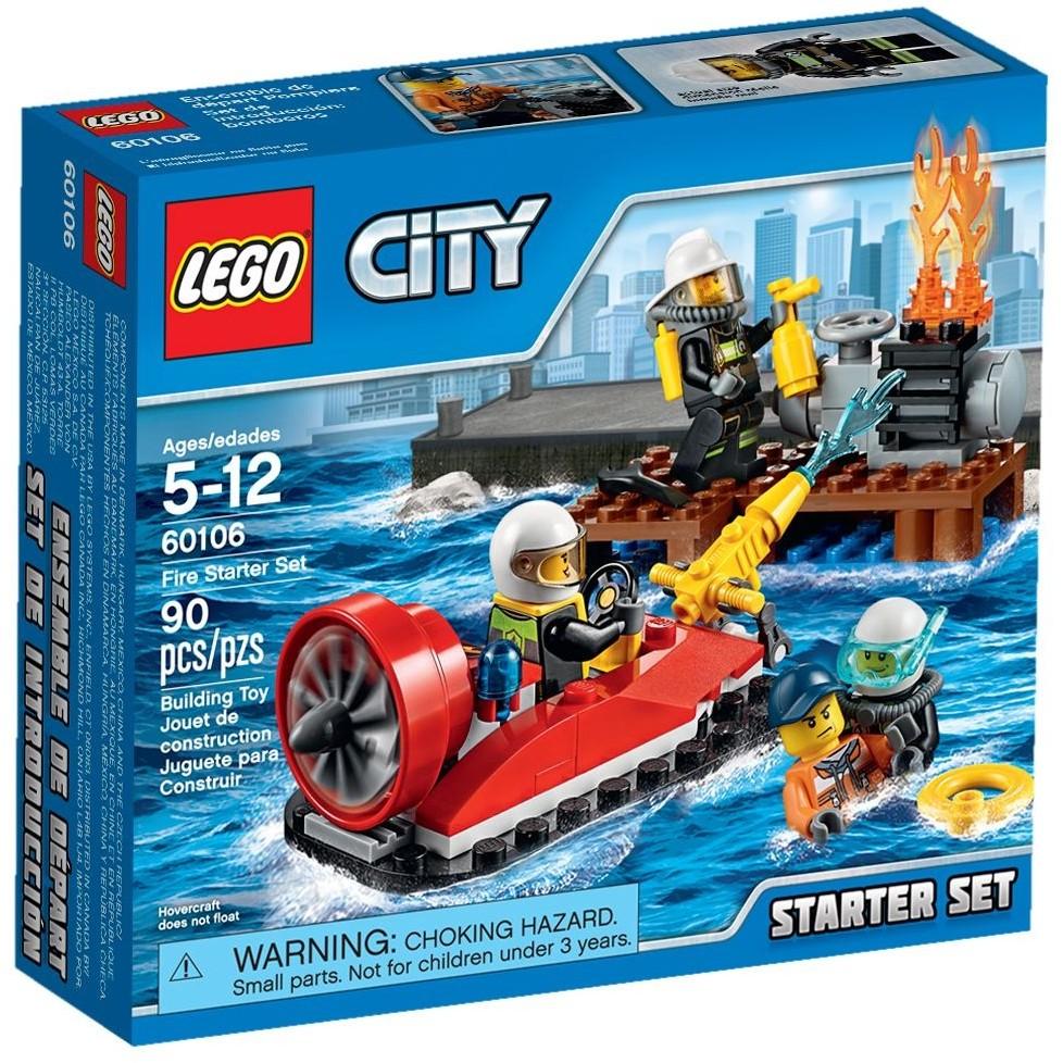 LEGO 樂高city 城市系列60106 消防入門套裝