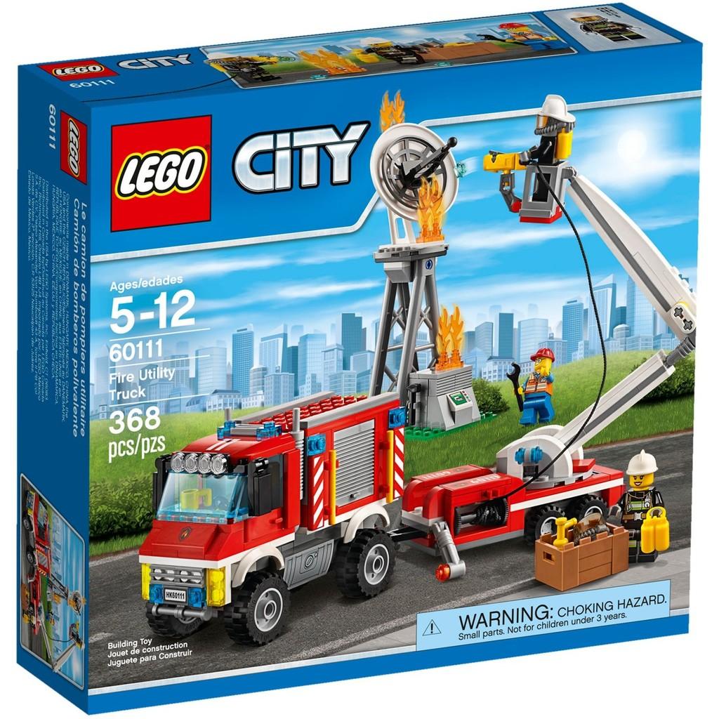 [想樂] 樂高Lego 60111 City 城市系列重型消防車Fire Utility