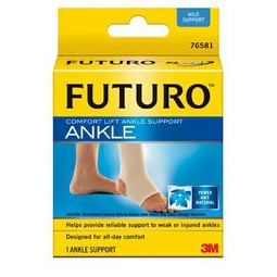 凱溢 用品美國3M FUTURO 護踝舒適型透氣舒適羽毛球馬拉松指定品牌各項