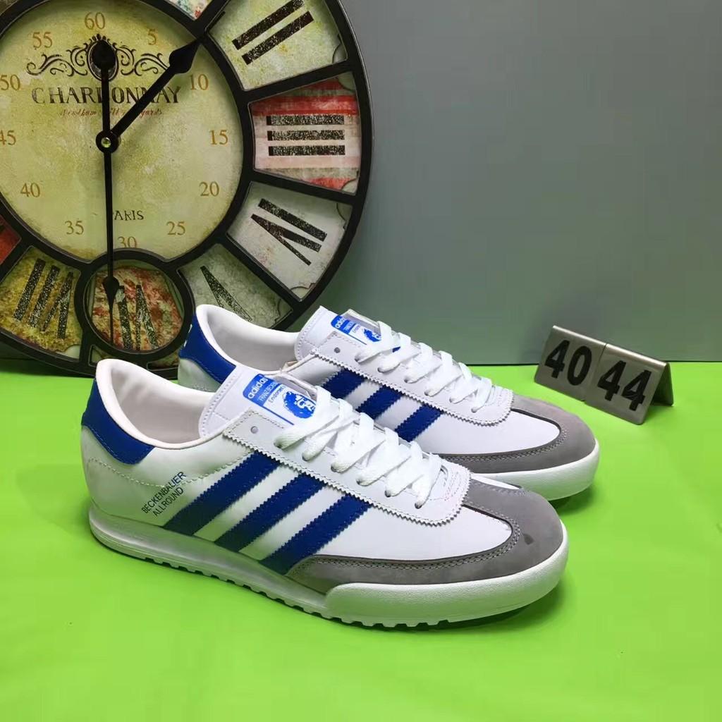 Adidas Beckenbauer all round 阿迪達斯男款板鞋 復古休閒系帶潮