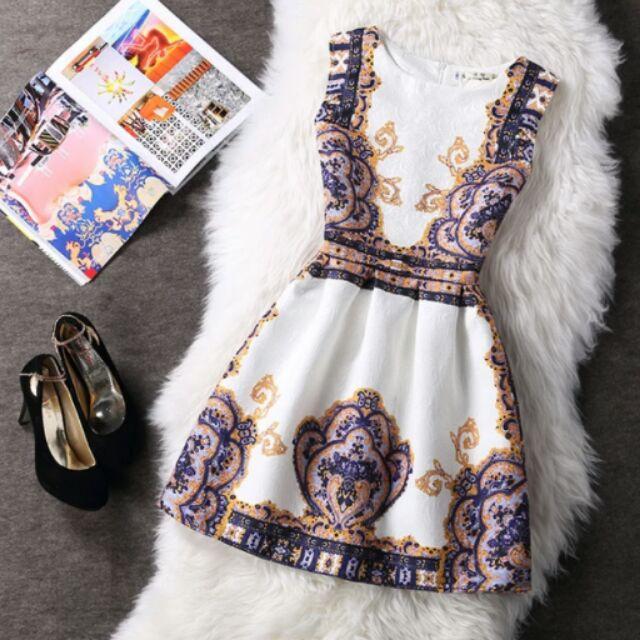 2016 夏天 無袖洋裝連衣裙小禮服小洋裝蓬蓬裙