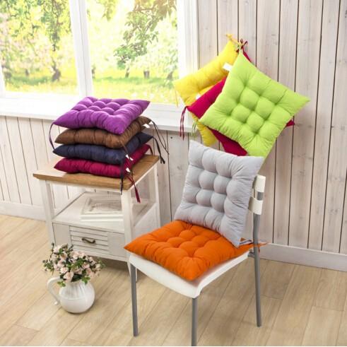 ~MIMI SHOP ~~加厚椅子坐墊磨毛椅墊~不挑色椅墊加厚款沙發坐墊榻榻米柔軟舒適