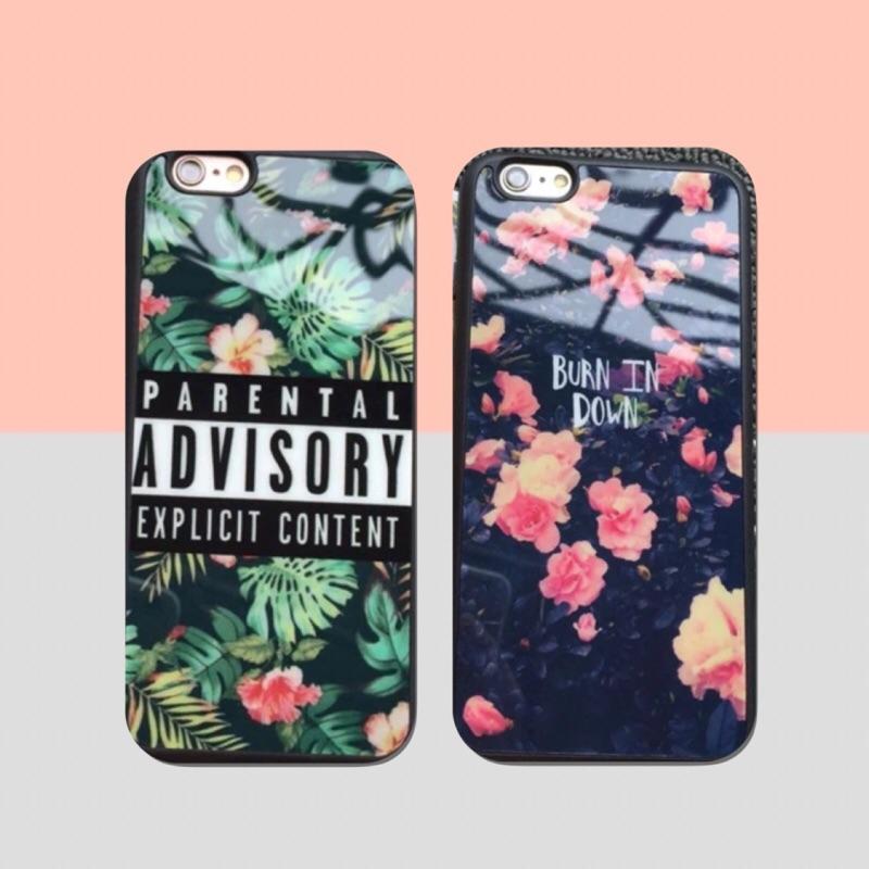 蘋果碎花花花森林 情侶卡通手機殼保護套iPhone6 IPhone7 IPhone6spl