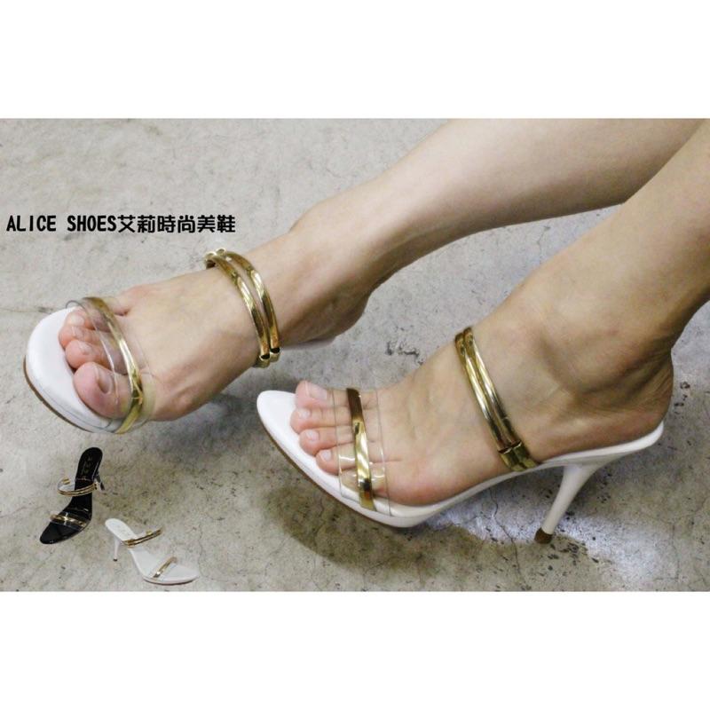 ALICE SHOES 艾莉易購網請把握搶鮮擁有 水鑽圓頭高跟鞋680 高跟7cm 以上M