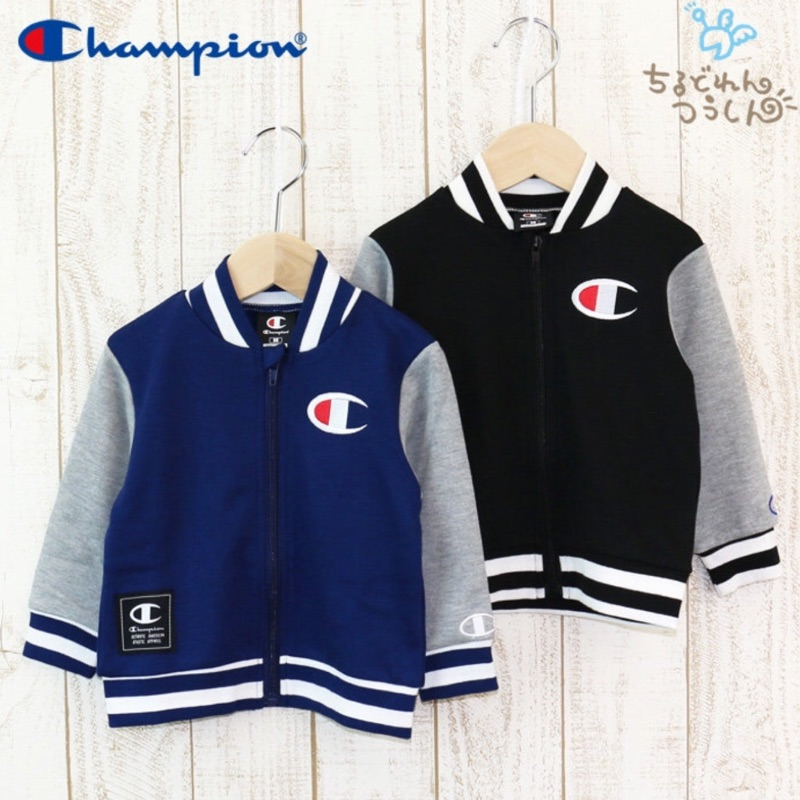 XENO Ch ion Logo Stadium JKT 小孩棒球外套