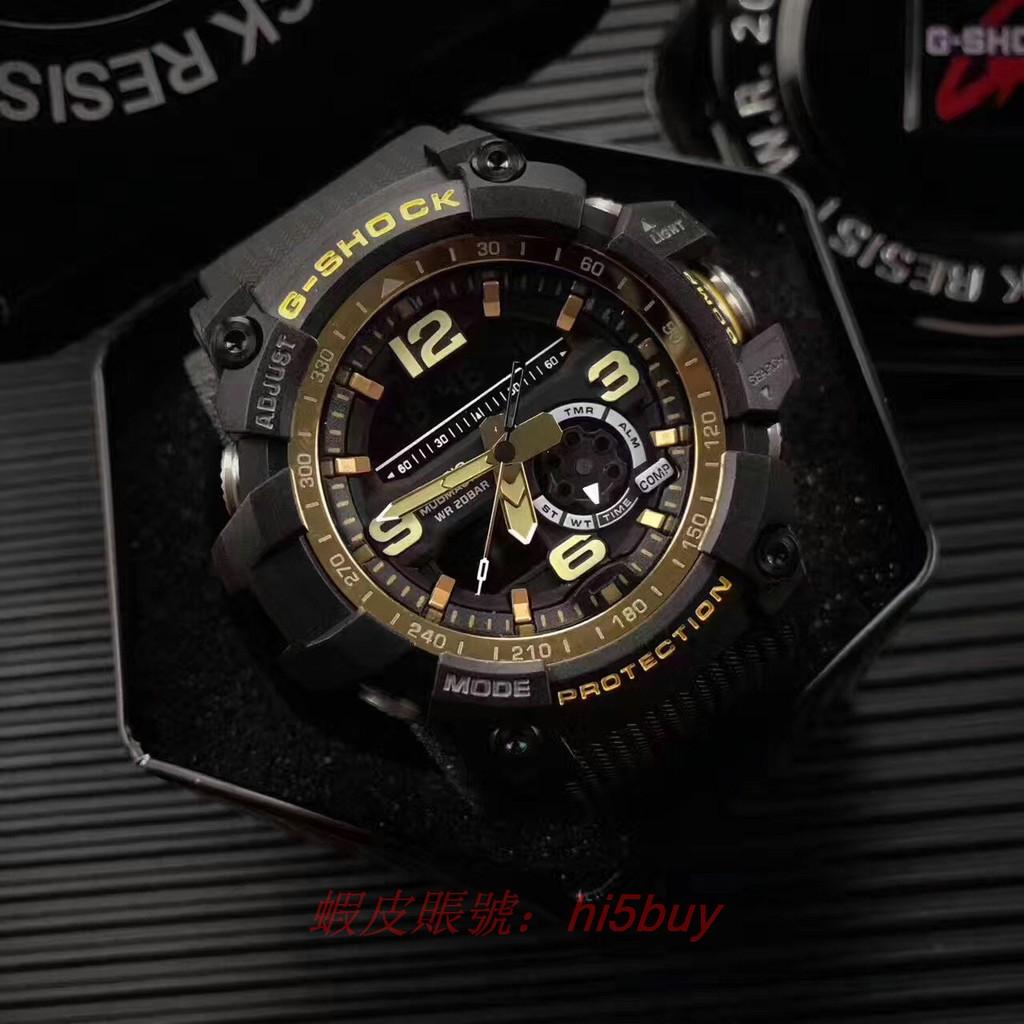 卡西歐(CASIO )手表G SHOCK 系列雙顯 男表GG 1000GB 1A