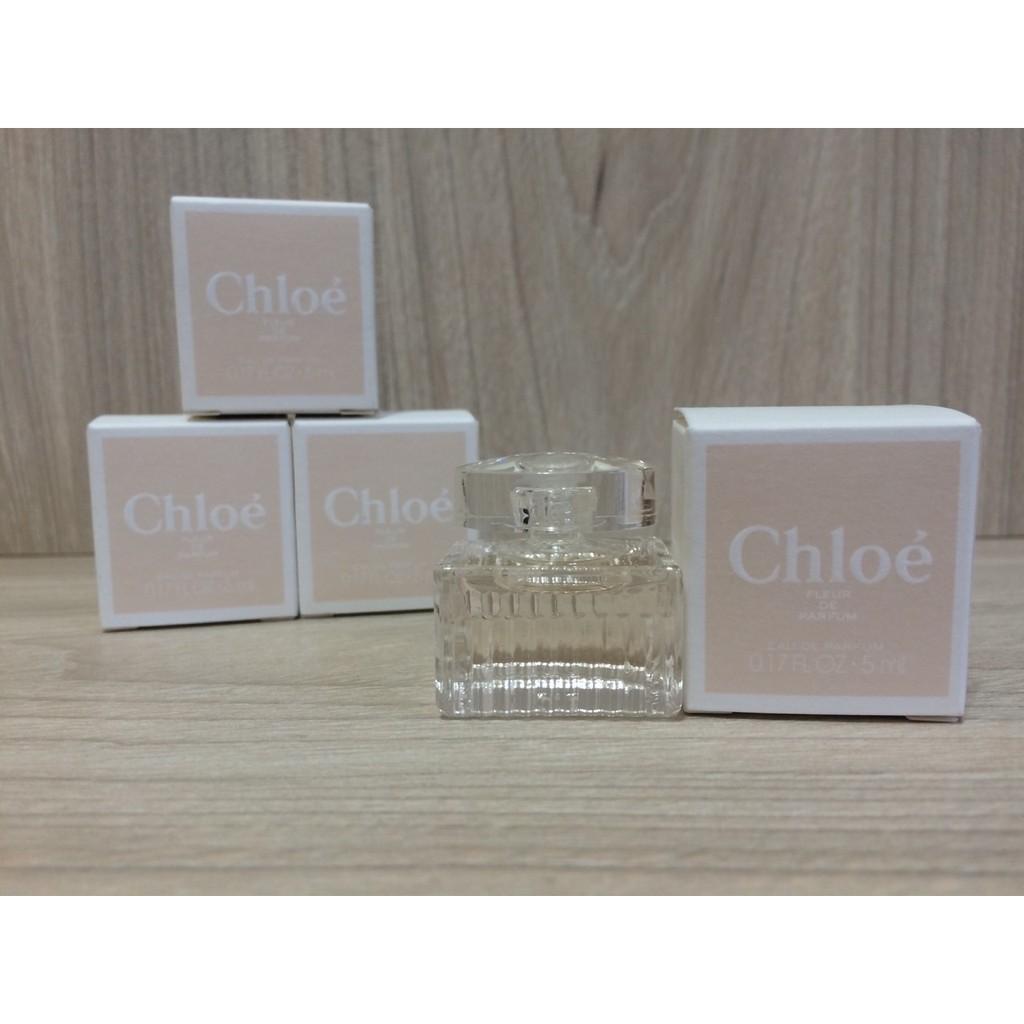 Chloe 玫瑰之心女性淡香精5ml 小香水科蒂 貨2016