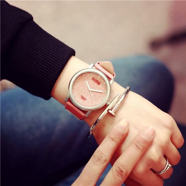 韓國ulzzang 星空原宿風男女生學生 簡約 潮流閨蜜姐妹手錶