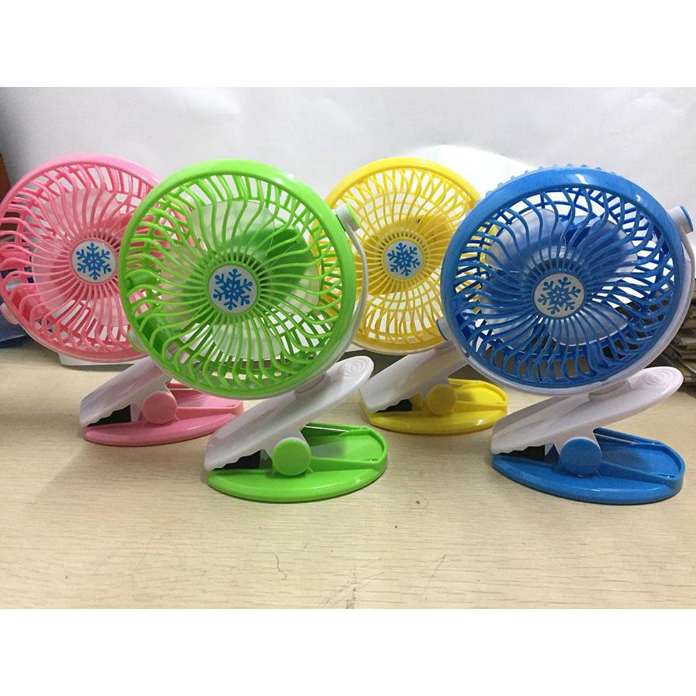 Leegoal 四吋夾式風扇~三檔變速~夾式立式兩用~嬰兒推車夾扇充電USB 風扇