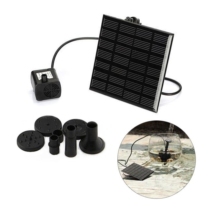 ~玩具貓窩~微型潛水泵太陽能噴泉泵 造景噴泉花園池塘