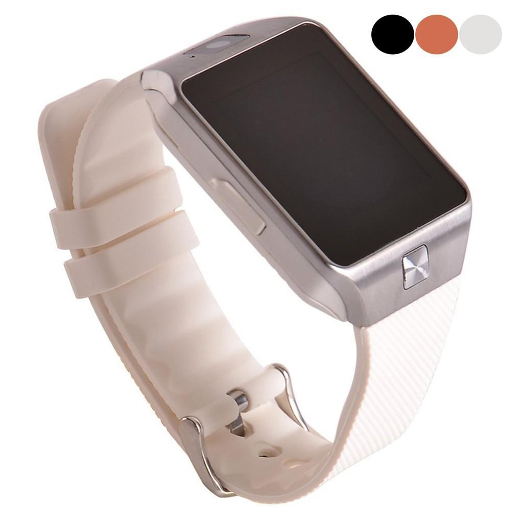 藍牙3 0 觸摸屏智能手錶手機伴侶GSM 電話支持SIM 卡TF30W 像素
