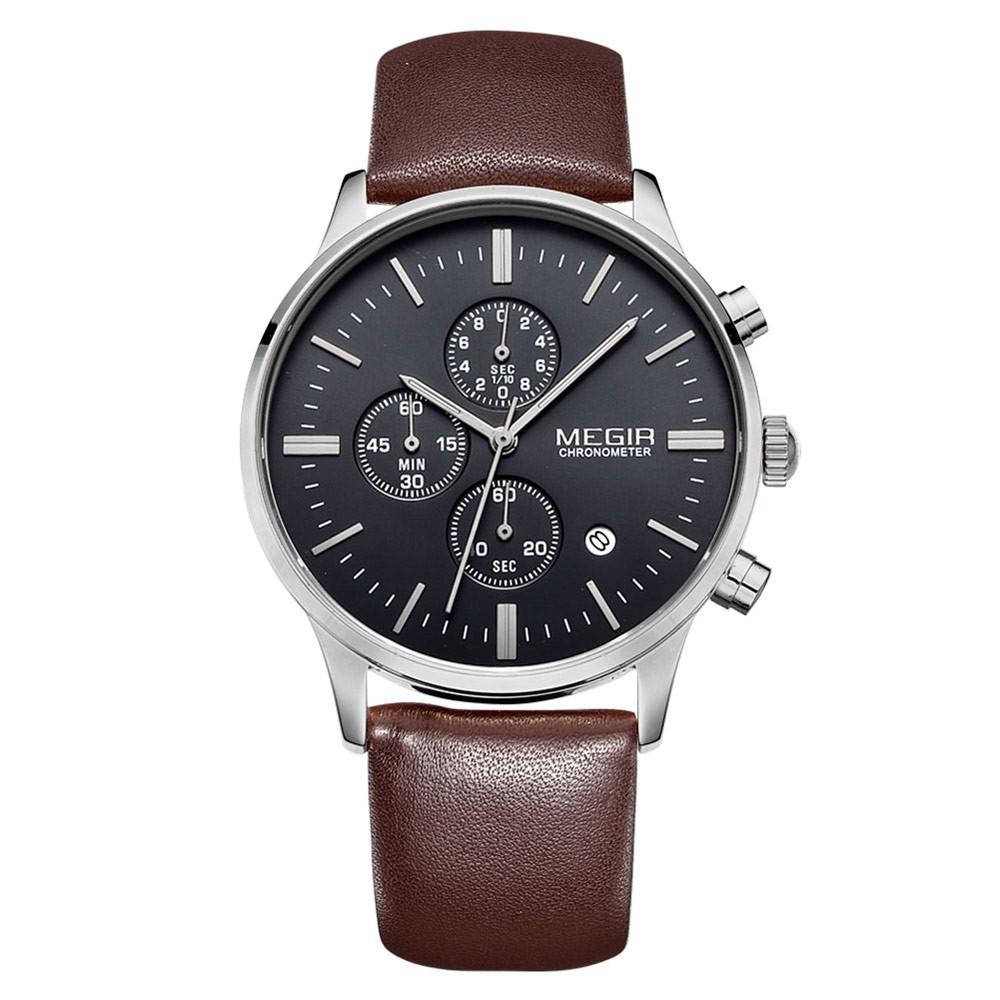 MEGIR 2011 男士防水 石英手錶