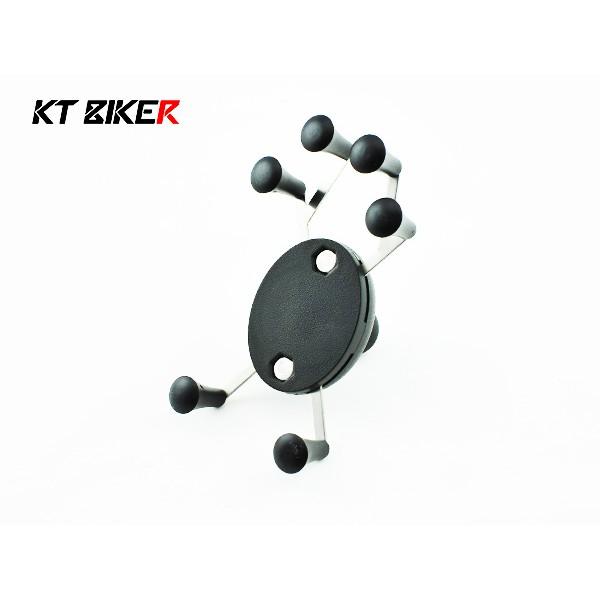 KT BIKER_ 單售六爪支架球體X 型手機架六點式摩托車機車手機架~MSS103 ~