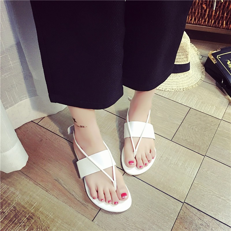 涼鞋沙灘鞋平跟鞋百搭鞋夾腳防滑 鞋潮尖頭高跟鞋厚底涼鞋厚底跟鞋楔形涼鞋楔形跟鞋娃娃鞋豆豆鞋