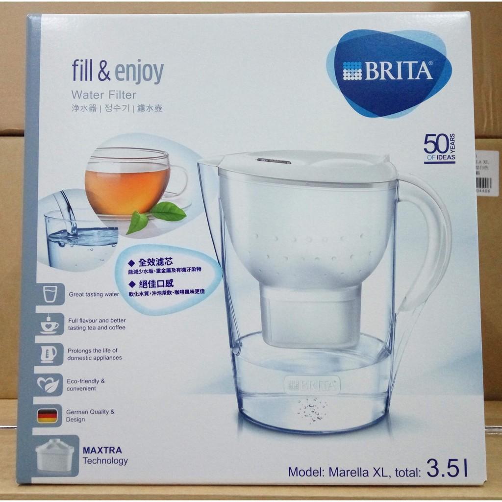 德國BRITA 3 5L 2 4L Marella 馬利拉濾水壺,含MAXTRA 濾心濾芯