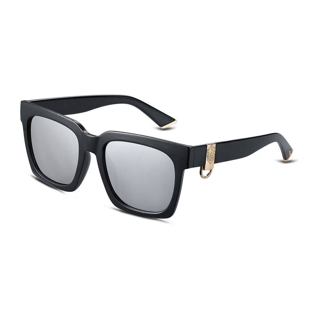 太陽鏡方形大框戶外眼鏡鍍膜偏光墨鏡