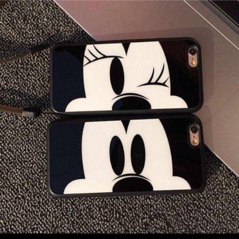 情侣米奇米妮iPhone5s SE iPhone6 6s iPhone6Plus 6sPl