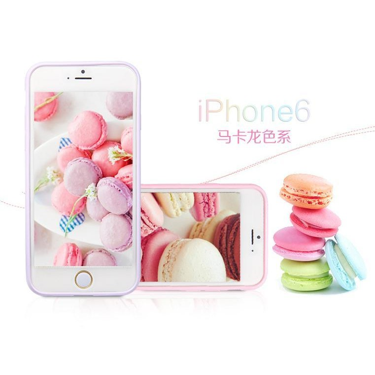 糖果色磨砂手機殼PC TPU iphone6 PLUS iphone6 iphone5C
