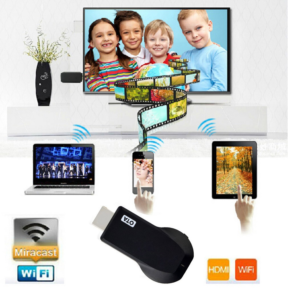 ~ ~M2 Wifi 顯示HDMI 1080P 電視接收器EzCast 智能手機筆記本電腦