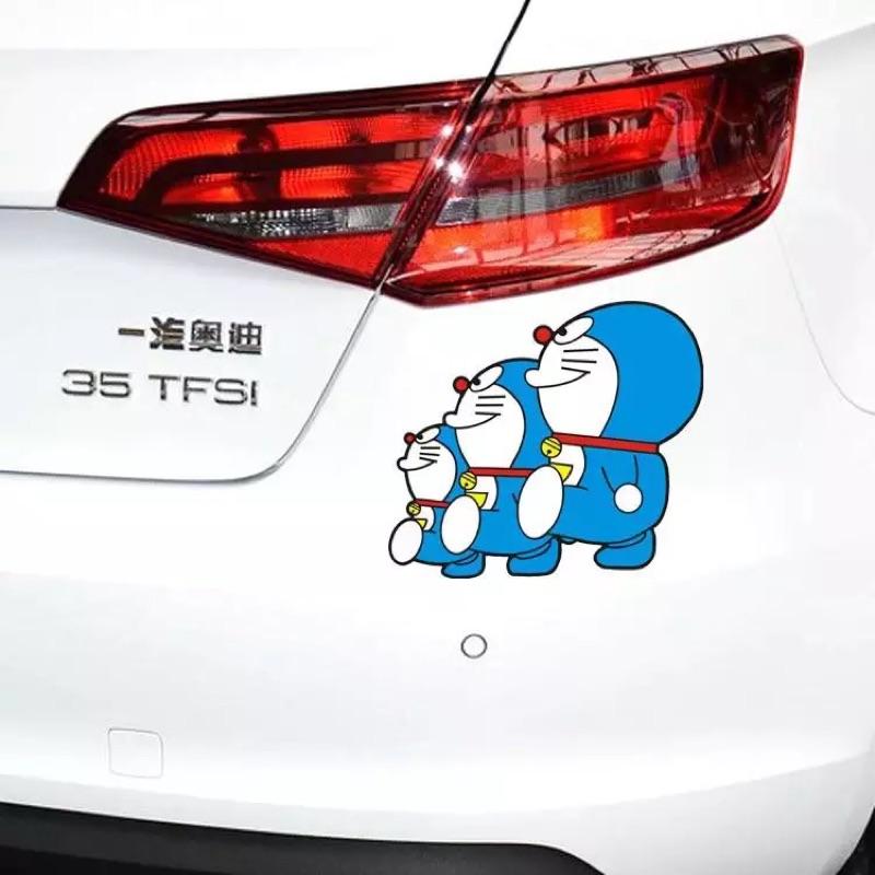 多啦a 夢汽車貼紙車貼叮噹貓