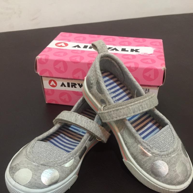 女童寶寶 帆布鞋可愛波點童鞋 休閒鞋