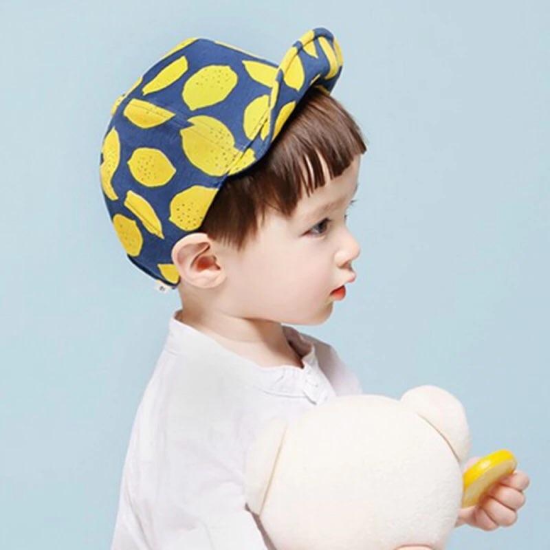 夏日清爽檸檬棒球帽、鴨舌帽、帽子