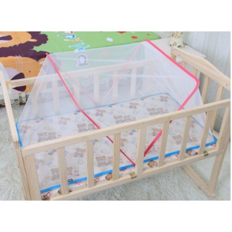 大象媽媽嬰兒蚊帳罩無底折疊式寶寶蚊帳兒童嬰兒床蚊帳