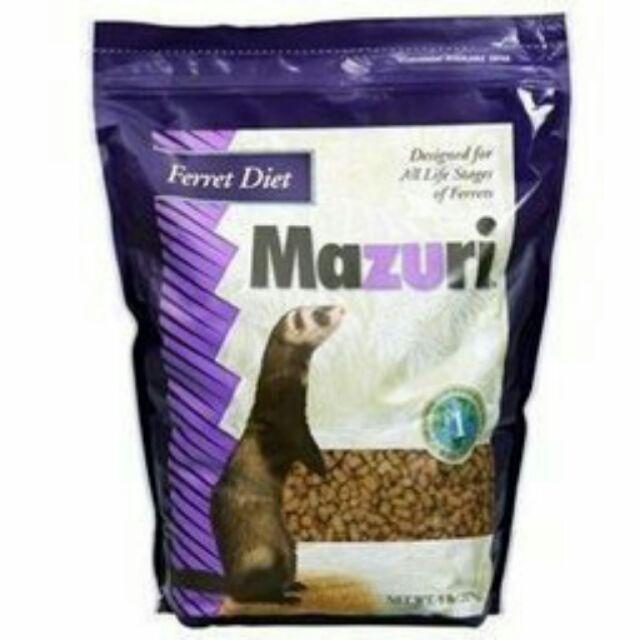 汪喵寶貝Mazuri 美國 雪貂飼料800g 25 磅11 3kg 白色牛皮紙袋包裝
