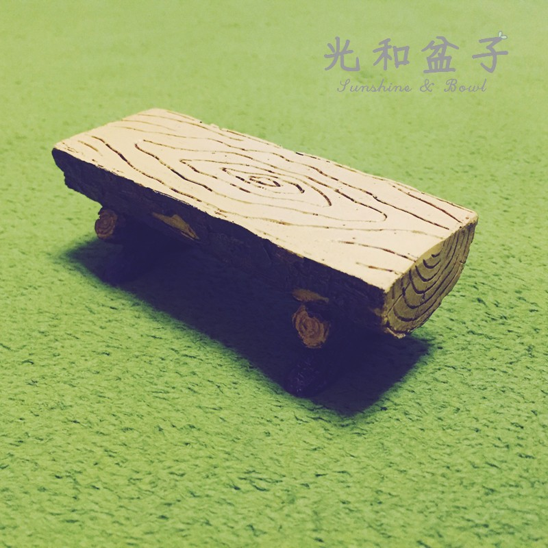 光和盆子∞森林系~樹頭椅S ~ZAKKA 雜貨樹頭椅展示座居家裝飾民宿 桌上小物(現預)