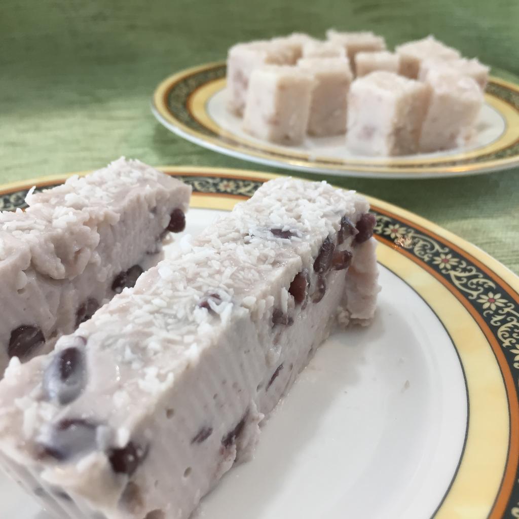 紅豆椰香雪花糕