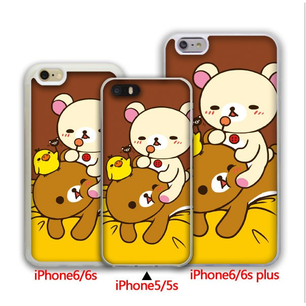 Rilakkuma 輕鬆熊iphone5 iphone6 7plus 手機殼拉拉熊リラック