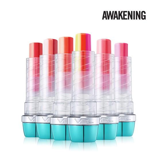 韓國VDL x COCORACHA  聯名Awakening 三色漸層口紅/漸層咬唇唇膏