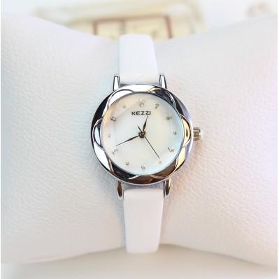 潮流風景綫๑大賣場๑女錶 休閒手錶女學生簡約潮小錶盤細錶帶防水石英錶皮帶時裝錶