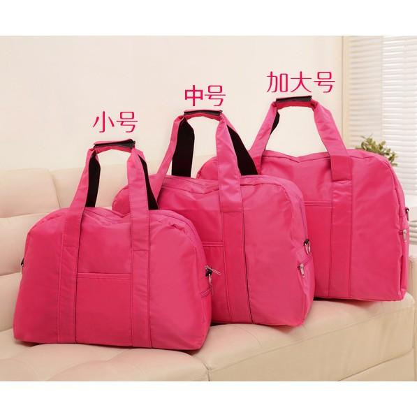 折疊行李袋短途旅行包女手提旅行袋行李包大容量旅遊包健身包男潮
