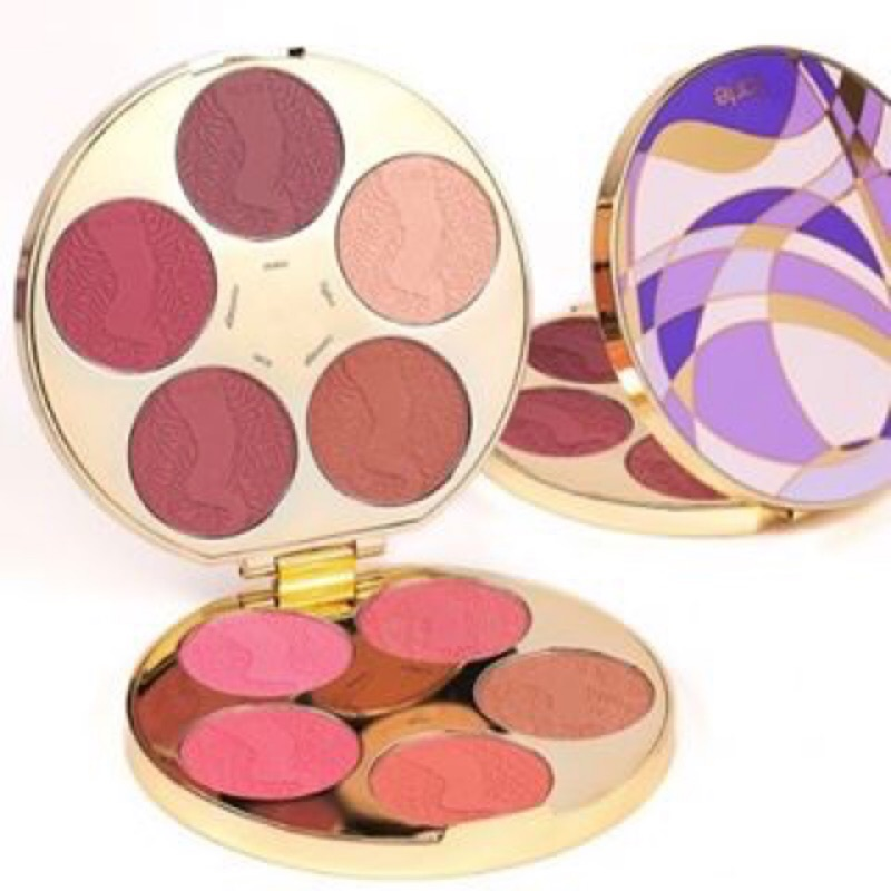 Tarte 十色腮紅盤color wheel Amazonian clay blush p