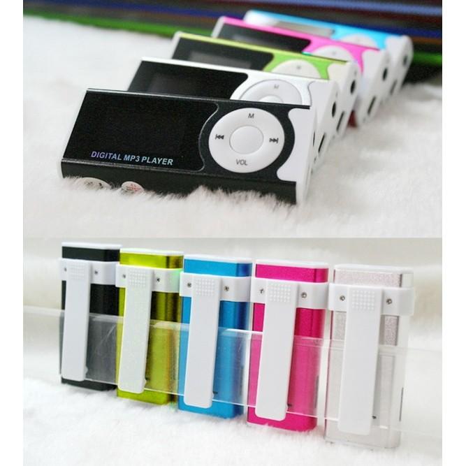 新FM 液晶屏幕帶架子金屬MP3 音樂播放器可插迷你USB 微型SD TF 卡