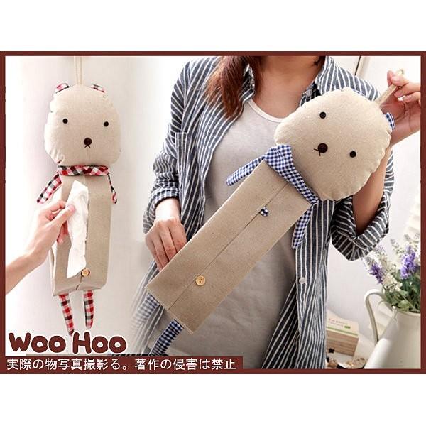 ~woohooshop ~~PZA658 ~Zakka 棉麻雜貨喵喵貓~布偶面紙盒~可吊掛