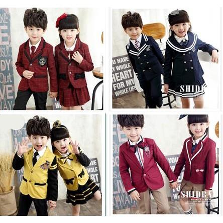 童年不同樣   英倫風學院派中小學生校服班服幼兒園服 套裝兒童表演大合唱服