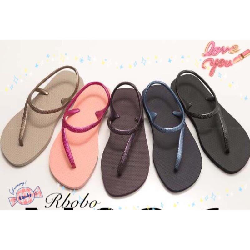 10 7 Rbobo 超美款式拖鞋