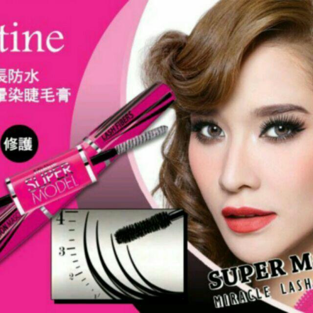 泰國Mistine 4D 纖長濃密防水睫毛膏,雙頭睫毛膏(增長濃密纖維+睫毛膏)